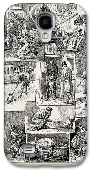 The Adventures Of The Dog Jim, 1889 1. Being Promised A Pet Galaxy S4 Case by Litz Collection