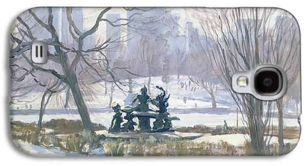 The Alice In Wonderland Statue, Central Park, New York Galaxy S4 Case by Julian Barrow
