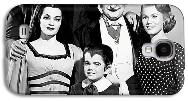 The All American Munsters Family Galaxy S4 Case by Daniel Hagerman