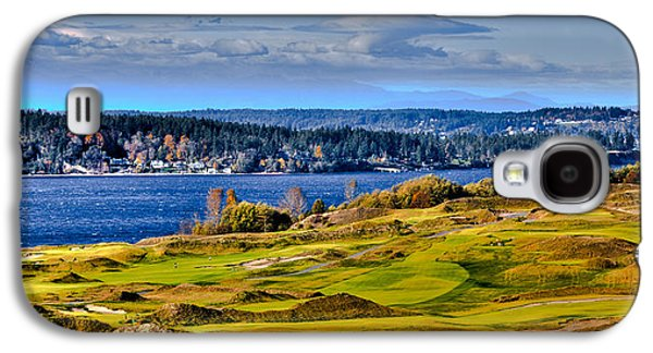 The Amazing Chambers Bay Golf Course - Site Of The 2015 U.s. Open Golf Tournament Galaxy S4 Case by David Patterson