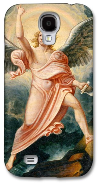 The Angel Proclaiming The End Of Time Galaxy S4 Case by James Justus Tucker