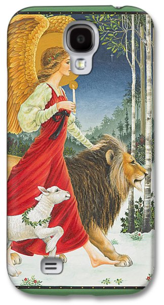 The Angel The Lion And The Lamb Galaxy S4 Case