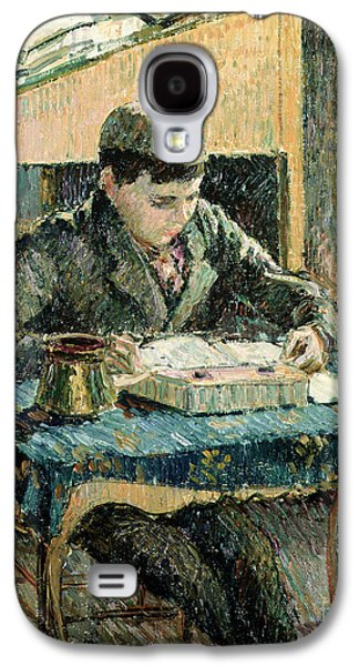 The Artists Son Galaxy S4 Case by Camille Pissarro