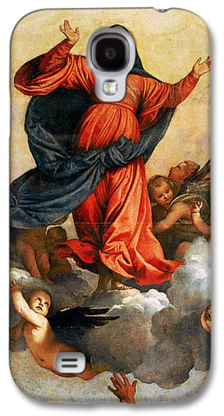 The Assumption Of The Virgin Galaxy S4 Case by Titian