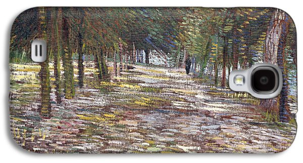 The Avenue At The Park Galaxy S4 Case by Vincent Van Gogh