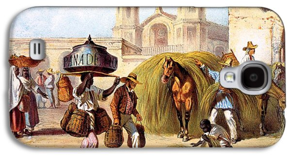 The Baker And The Straw Seller, 1840 Galaxy S4 Case