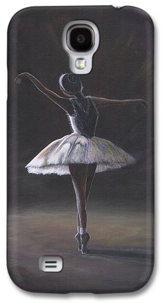 The Ballerina Galaxy S4 Case by Beckie J Neff