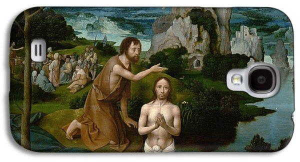 The Baptism Of Christ Galaxy S4 Case by Joachim Patinir