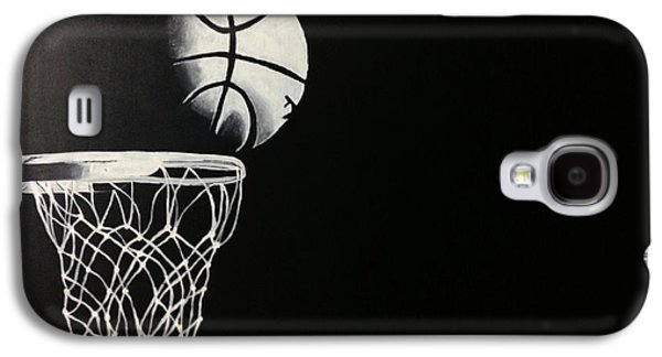 The Basketball Galaxy S4 Case by Sanjay Thamake