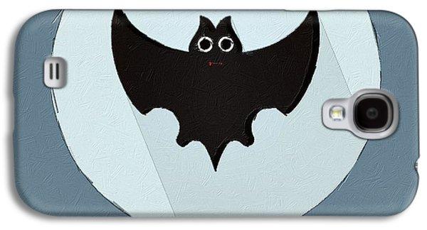 The Bat Cute Portrait Galaxy S4 Case by Florian Rodarte
