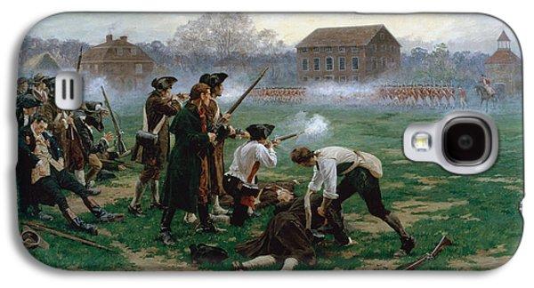 The Battle Of Lexington, 19th April 1775 Galaxy S4 Case