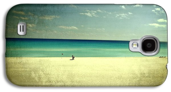 The Beach - From My Iphone Galaxy S4 Case by Mary Machare