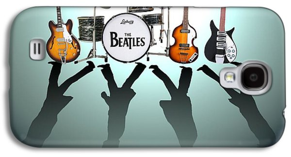 Drum Galaxy S4 Case - The Beatles by Lena Day