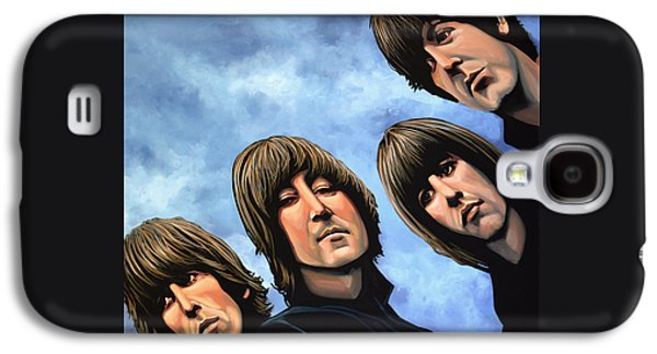Rock And Roll Galaxy S4 Case - The Beatles Rubber Soul by Paul Meijering