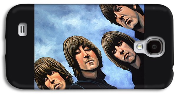 The Beatles Rubber Soul Galaxy S4 Case by Paul Meijering