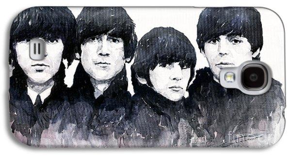 Musicians Galaxy S4 Case - The Beatles by Yuriy Shevchuk