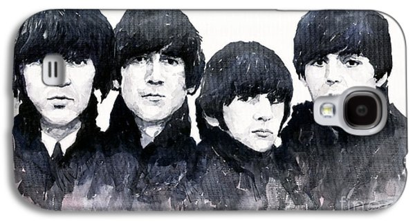Musicians Galaxy S4 Case - The Beatles by Yuriy Shevchuk