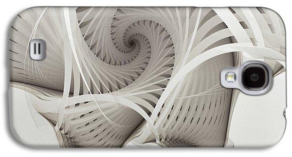 The Beauty Of Math-fractal Art Galaxy S4 Case by Karin Kuhlmann