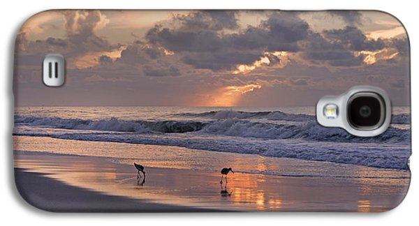 Sandpiper Galaxy S4 Case - The Best Kept Secret by Betsy Knapp