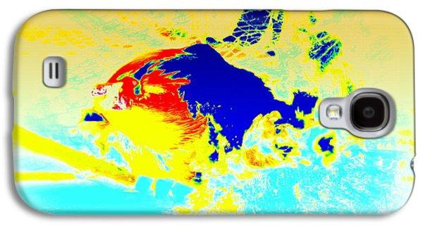 The Big Fish Wondering Where To Swim  Galaxy S4 Case by Hilde Widerberg