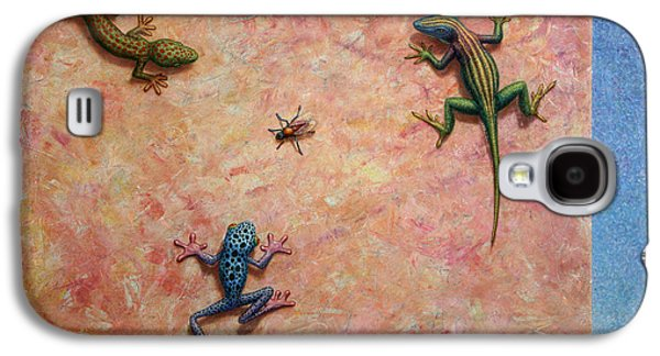 Frogs Galaxy S4 Case - The Big Fly by James W Johnson
