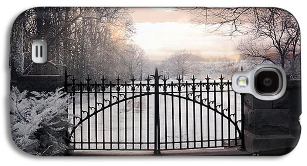 The Biltmore House Gates - Biltmore Estate Mansion Gate Nature Landscape Galaxy S4 Case