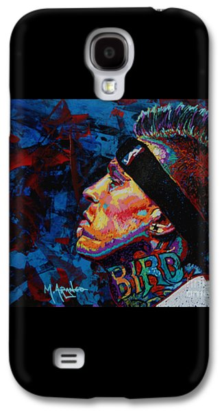 The Birdman Chris Andersen Galaxy S4 Case by Maria Arango