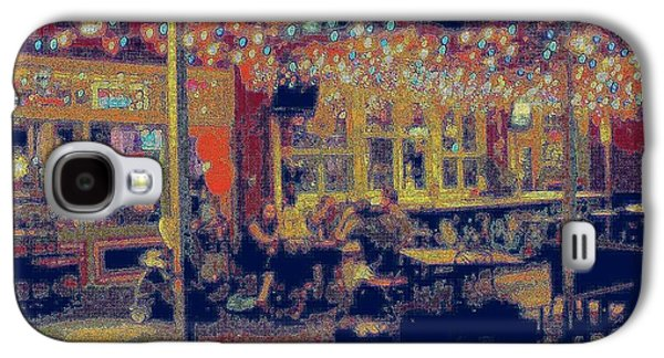 The Bistro Patio Galaxy S4 Case by ARTography by Pamela Smale Williams