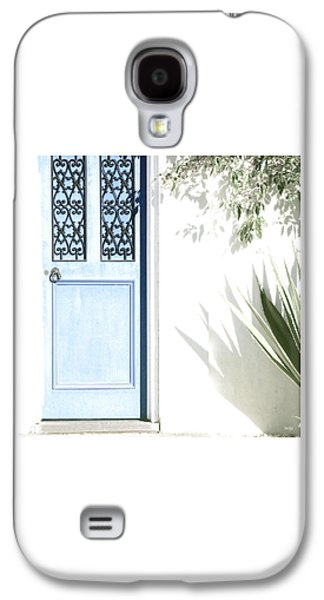 The Blue Door Galaxy S4 Case by Holly Kempe