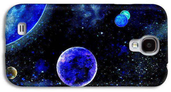 The Blue Planet Galaxy S4 Case by Bill Holkham
