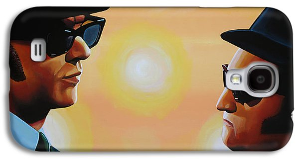 Rhythm And Blues Galaxy S4 Case - The Blues Brothers by Paul Meijering