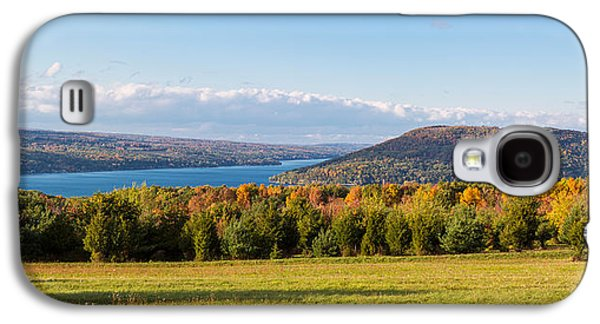 The Bluff On Keuka Lake In Autumn Galaxy S4 Case by Panoramic Images