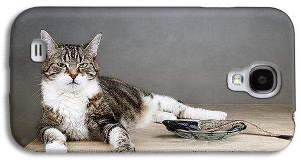 The Boss Galaxy S4 Case by Nailia Schwarz