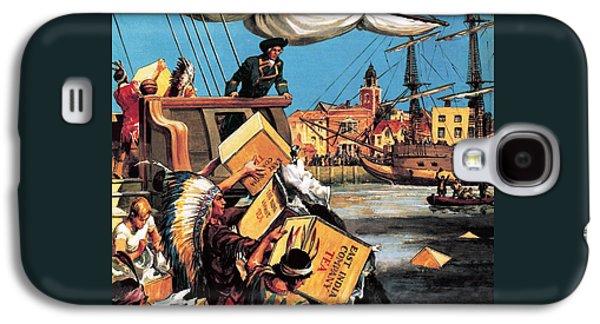 The Boston Tea Party Galaxy S4 Case by English School