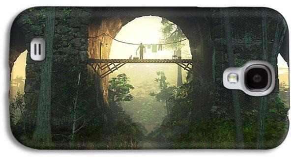 The Bridge Under The Bridge Galaxy S4 Case by Cynthia Decker