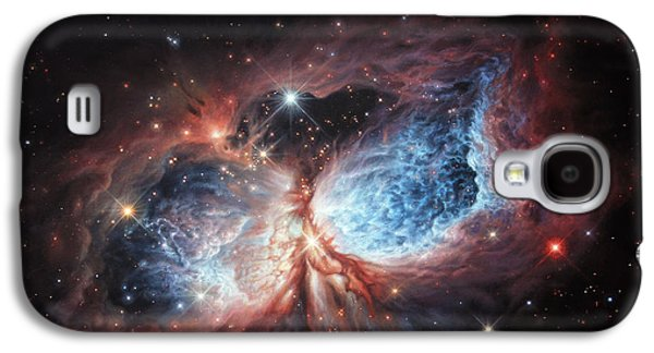 The Brush Strokes Of Star Birth Galaxy S4 Case by Lucy West