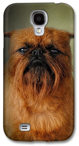 The Brussels Griffon Galaxy S4 Case by Jai Johnson