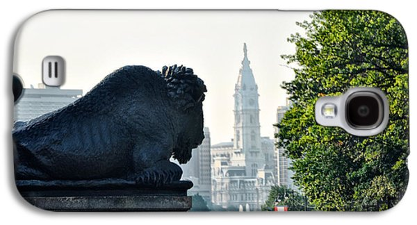 The Buffalo Statue On The Parkway Galaxy S4 Case