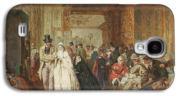 The Buffet Swindon Station Galaxy S4 Case by George Elgar Hicks