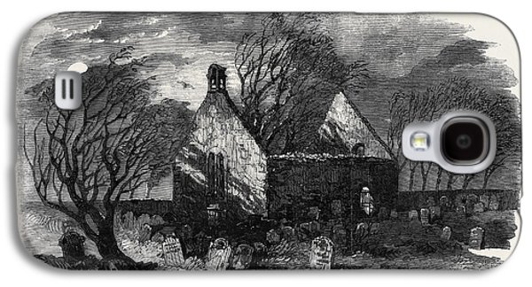 The Burns Centenary Alloways Auld Haunted Kirk Galaxy S4 Case by English School