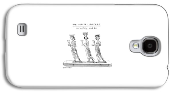 The Capital Sisters Dory Galaxy S4 Case by James Stevenson