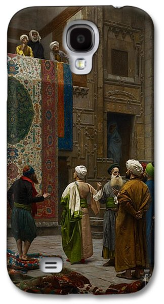 The Carpet Merchant Galaxy S4 Case by Jean Leon Gerome