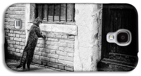 Old Town Galaxy S4 Case - The Cat by Izabella V?gh