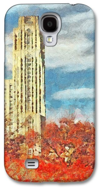 The Cathedral Of Learning At The University Of Pittsburgh Galaxy S4 Case