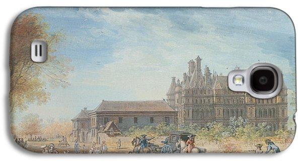 The Chateau De Madrid Galaxy S4 Case by Louis-Nicolas de Lespinasse