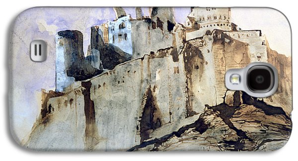 The Chateau Of Vianden Galaxy S4 Case by Victor Hugo
