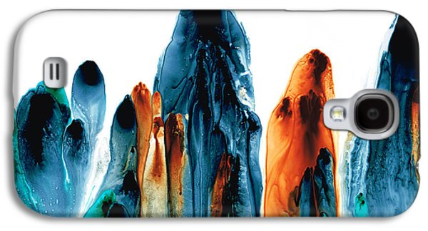 The Chosen Ones - Emotive Abstract Painting Galaxy S4 Case
