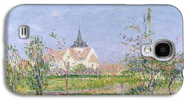 The Church At Vaudreuil Galaxy S4 Case by Gustave Loiseau