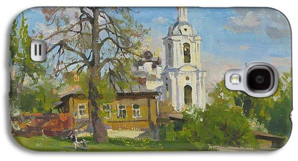The Church Spasa Za Verhom Galaxy S4 Case by Victoria Kharchenko