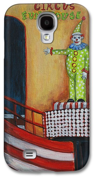 The Circus Fun House Galaxy S4 Case by Patricia Arroyo